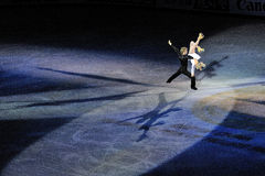 Tazza della Cina ISU grande Prix della figura pattinare 2011 fotografie stock libere da diritti