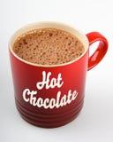 Tazza della cioccolata calda Fotografia Stock