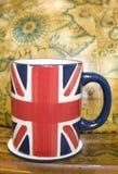 Tazza della presa del sindacato di tè Fotografia Stock Libera da Diritti