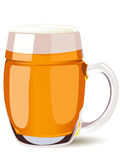 Tazza di birra Fotografia Stock