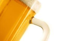 Tazza di birra Immagini Stock