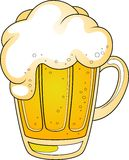 Tazza di birra Immagine Stock