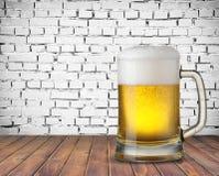 Tazza di birra Immagini Stock Libere da Diritti