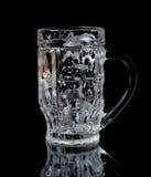 Tazza di birra vuota Immagine Stock