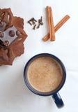 Tazza di cacao caldo immagini stock libere da diritti