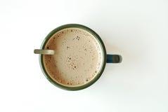 Tazza di cacao caldo Fotografia Stock
