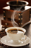 Tazza di caffè Fotografia Stock