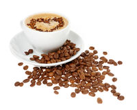 Tazza di caffè Fotografie Stock Libere da Diritti