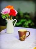 Tazza di caffè. 2 Fotografie Stock Libere da Diritti