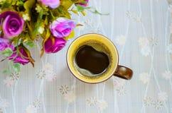 Tazza di caffè. 4 Fotografia Stock Libera da Diritti