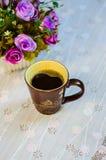 Tazza di caffè. 5 Fotografia Stock