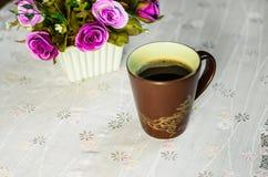 Tazza di caffè. 7 Fotografie Stock Libere da Diritti
