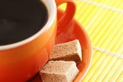 Tazza di caffè astratta di mattina Fotografia Stock