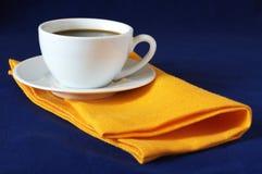 Tazza di caffè bianca Immagini Stock