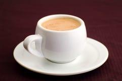 Tazza di caffè bianca Immagine Stock Libera da Diritti