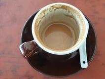 Tazza di caffè bianco fotografie stock