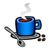 Tazza di caffè bianco Immagini Stock Libere da Diritti