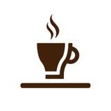 Tazza di caffè bianco Immagini Stock