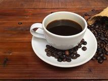 Tazza di caffè bianco Immagine Stock Libera da Diritti