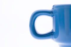 Tazza di caffè blu Immagini Stock