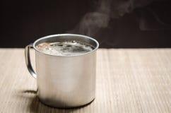 Tazza di caffè calda Fotografia Stock Libera da Diritti