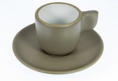 Tazza di caffè ceramica Immagini Stock Libere da Diritti