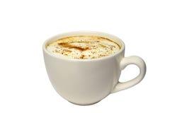 Tazza di caffè con cannella fotografia stock