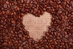 Tazza di caffè con cuore Immagine Stock Libera da Diritti