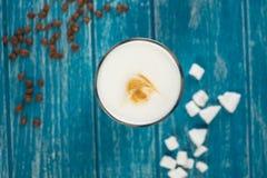 Tazza di caffè con zucchero Fotografia Stock Libera da Diritti