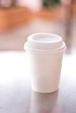 Tazza di caffè di carta Immagini Stock Libere da Diritti