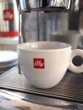 Tazza di caffè di Illy Immagini Stock Libere da Diritti