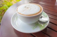 Tazza di caffè di mattina Fotografie Stock Libere da Diritti