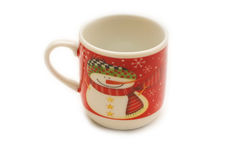 Tazza di caffè di Natale Immagini Stock