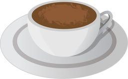 Tazza di caffè di vettore Fotografia Stock