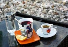 Tazza di caffè e tè Immagini Stock Libere da Diritti