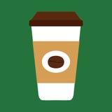 Tazza di caffè eliminabile Immagine Stock Libera da Diritti