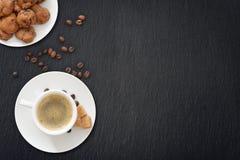 Tazza di caffè espresso Fotografia Stock Libera da Diritti
