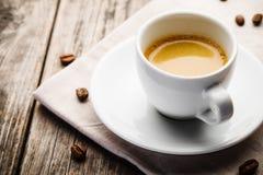 Tazza di caffè espresso Fotografie Stock