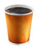 Tazza di caffè a gettare Immagini Stock