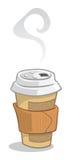 Tazza di caffè a gettare Immagini Stock Libere da Diritti
