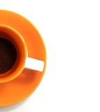 Tazza di caffè grezzo Immagini Stock