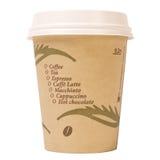Tazza di caffè isolata Fotografie Stock