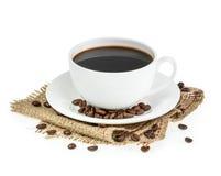 Tazza di caffè isolata Fotografia Stock