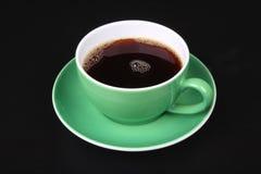 Tazza di caffè nero Immagine Stock Libera da Diritti