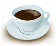 Tazza di caffè nero illustrazione di stock