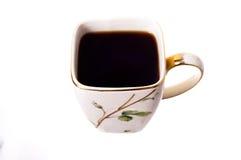 Tazza di caffè nero. immagini stock