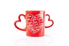 tazza di caffè piacevole Fotografia Stock
