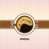 Tazza di caffè sui precedenti bianchi Illustrazione di Stock