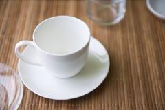 Tazza di caffè vuota Immagini Stock