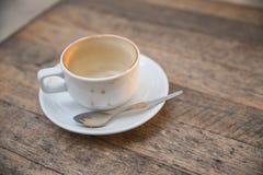 Tazza di caffè vuota immagine stock
